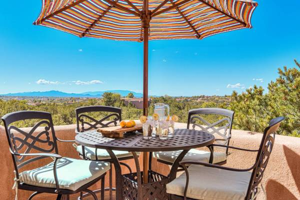 Santa Fe rentals with mountain views